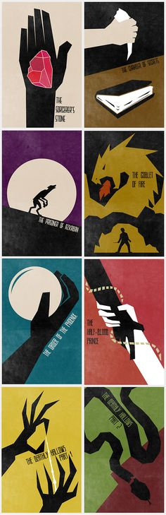 Harry Potter Movies (I liked this poster to so I am posting as well.)