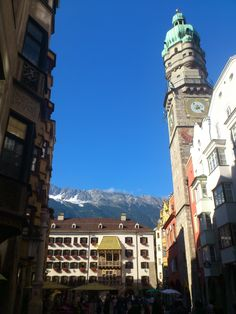 """Innsbruck, Austria. """"The Golden Roof""""...I took almost the same exact picture"""