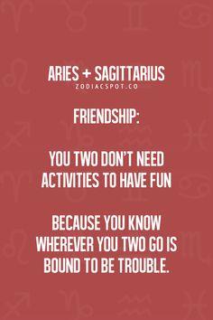 aries and sagittarius relationship problems