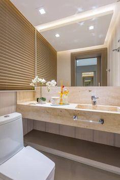 Projeto CV: Banheiros modernos por Juliana Agner Arquitetura e Interiores