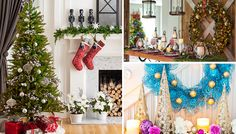 Room-by-Room Christmas Decorating Ideas Winter Christmas, Xmas, Christmas Tree, Christmas Ideas, Christmas Stairs Decorations, Table Decorations, Decorating Ideas, Holiday Decorating, Craft Ideas