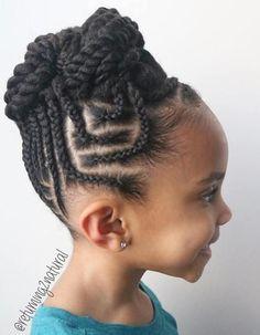 Idées Coupe cheveux Pour Femme 2017 / 2018 Image Description Tresses pour les enfants - 40 styles Splendid Braid pour les filles