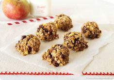 Apple Craisin Walnut Cookies #heathyeating #healthydessert #healthyrecipes #thehouseofsmiths #recipe #cookierecipe #applecraisincookie #dessert #appledessert