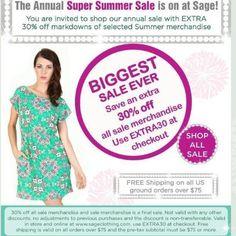 Summer Sale at Sage Clothing