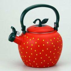 Strawberry Tea Kettle