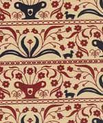 Urn Stripe Coverlet Fabric-coverlet, quilting fabric, windham fabrics