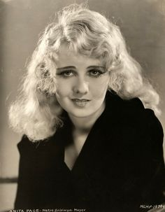 Anita Page, 1930.