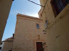 Iglesia de San Pedro Polop contrapicado