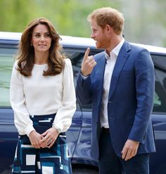 25 Times Kate Middleton and Prince Harry Got a Kick Out of Each Other