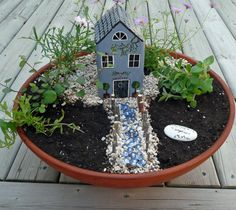 how to: fairy garden