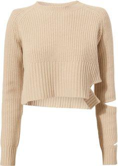 Zoe Jordan Akar Cropped Sweater