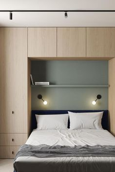 Minimalist Home Interior This Modern Scandinavian-Style Apartment is a Lesson in Warm Minimalism - NordicDesign.Minimalist Home Interior This Modern Scandinavian-Style Apartment is a Lesson in Warm Minimalism - NordicDesign Small Bedroom Designs, Modern Bedroom Design, Contemporary Bedroom, Small Modern Bedroom, Modern Apartment Design, Minimal Apartment, Modern Minimalist Bedroom, Modern Apartments, Room Design Bedroom