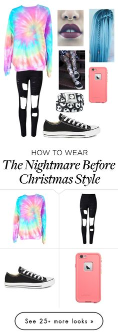 """Untitled #213"" by xxgraveyardbabyxx on Polyvore featuring Converse, women's clothing, women, female, woman, misses and juniors"
