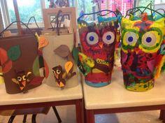 Uilen Lampionnen. Obs de Eemster. Art In The Park, Arizona Tea, Drinking Tea, Fun Crafts, November, Owls, Art Ideas, Autumn, Fall Lanterns
