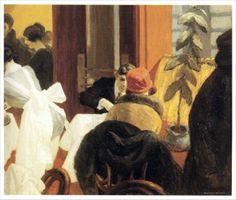 Edward Hopper - New York Restaurant (1922)