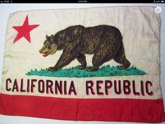 Antique California Bear Flag | Bear Flag Museum