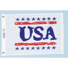 Nyl-Glo U.S.A. Fun Flag-12 in. X 18 in. http://www.pacificcoastflag.com/product-type/sports-recreation-leisure-boating-fishing-auto-racing/12-in-x-18-in-nyl-glo-u-s-flag.html