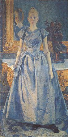 Théo van Rysselberghe - Juffrouw Alice Sèthe 1888