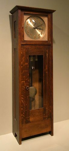 Hall Clock by Gustav Stickley 1902 - Art Institute of Chicago R0016927A