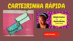 Carteirinha Rápida Aula ao Vivo#59 Vivo, Youtube, Facebook, Pocket Wallet, Living Alone, Retail, Creative, Bags, Youtubers