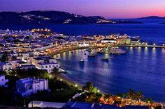 Cosmopolitan Mykonos island and Santorini with its sensational sunsets, the…