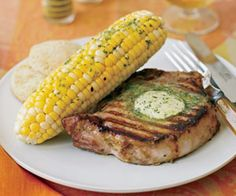 Grilled Corn on the Cob with Lime Butter