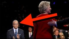TRUMP WAS RIGHT! WHAT LESTER HOLT HAD IN HIS EAR PROVED HILLARY RIGGED T...