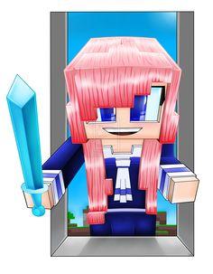 ld shadow lady fan art Minecraft Skins Dog, Minecraft Songs, Ldshadowlady Fan Art, Chicken Parmesean, Minecraft Bedroom, Joey Graceffa, Markiplier, Geek Out, Evie