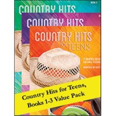 Alfred 00-106587 Country Hits for Teens 1-3, As Shown