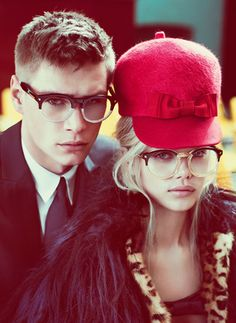 And my next pair of eyewear...  Fashion Dsquared Eyewear Campaign Fall-Winter 2012-2013