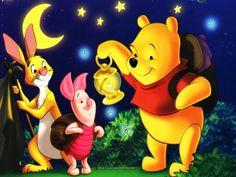 Pooh, pigglet, rabbit