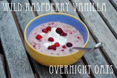 Wild Raspberry Vanilla Overnight Oats
