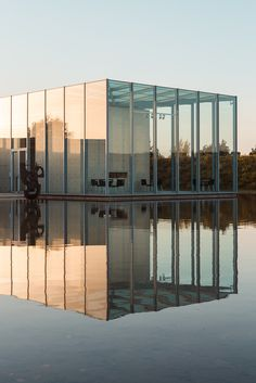water, modern farmhouse, architects, japan, glasses, architectur, foundation, tadao ando, glass houses