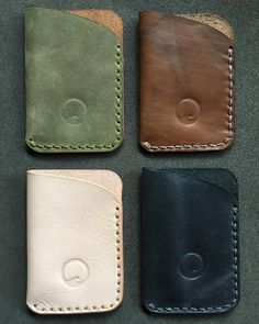 """167 Likes, 17 Comments - Low Tide Leather (@lowtideleather) on Instagram: """"Thread matching. Which is your favorite? . . #buylocal #pnw #oregon #leathercraft #leathergoods…"""""""