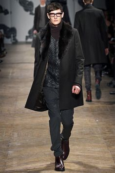 James Dean of the moment. A look from Viktor & Rolf Fall/ Winter 2013.