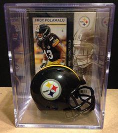 Troy Polamalu Pittsburgh Steelers Helmets