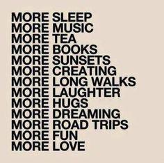 More, please.