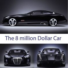 WOWSERS!!! The 8 million dollar car. Officially the world's most expensive car, this Maybach would make any luxury penthouse owner jealous. This is 100% pure 'extravagopulence.' #spon YOU HAVE TO SEE THIS!