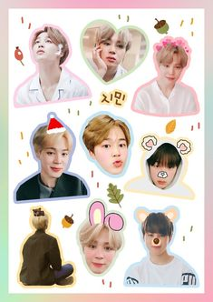 43 Ideas Birthday Pictures For 2019 Pop Stickers, Tumblr Stickers, Printable Stickers, Jimin Birthday, Bts Anime, Bts Birthdays, Bts Merch, Bts Drawings, Bts Chibi