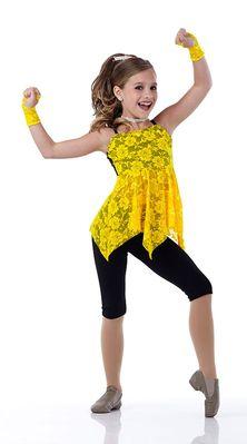 Mackenzie Ziegler from Lifetime's hit reality TV show 'DanceMoms' modeling for Cici Dancewear