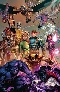X-Men by Jason Metcalf The perfect line up Comic Book Characters, Comic Book Heroes, Marvel Characters, Comic Books Art, Comic Art, Marvel Comics Art, Marvel Comic Universe, Comics Universe, Marvel Heroes