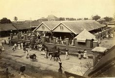 A. Duperly & Sons-Jubilee Market, West Parade, Kingston Jamaica 1890