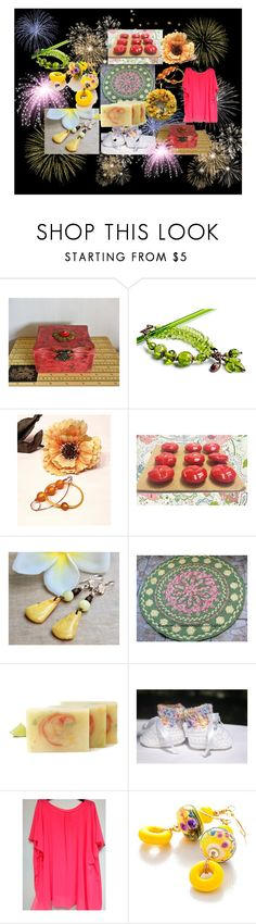 """""""Celebrate #SpecialTWeek"""" by artbymarionette ❤ liked on Polyvore featuring Whit, handmade, EtsySpecialT and SpecialTweek"""