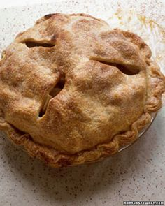 Martha Stewart's Classic Apple Pie Recipe