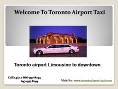 Toronto Limousine and Taxi Service to and from the airport offers flat rates for taxi and limo. Book Now: www.torontoairport-taxi.com