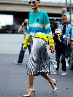 Le style naît souvent d'associations inattendues !