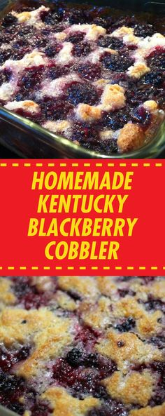 Blackberry Cobbler is a very easy recipe, the only catch is that it takes about minutes in the oven to go through the bubbling, caramelizing, browning process (now that doesn't sound too bad, does Baking Recipes, Cake Recipes, Dessert Recipes, Fun Recipes, Dessert Ideas, Sweet Recipes, Breakfast Recipes, Healthy Recipes, Just Desserts