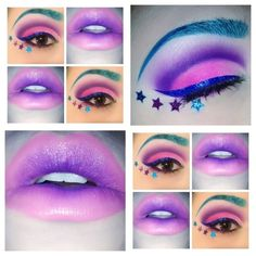 eye festival makeup