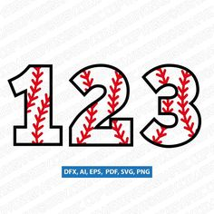This Baseball Softball Ball Numbers First Second Third Fourth Fifth Birthday Party Baseball Font, Baseball Numbers, Baseball Playoffs, Baseball Live, Baseball Shirts, Baseball Birthday, 5th Birthday, Birthday Ideas, Birthday Clipart