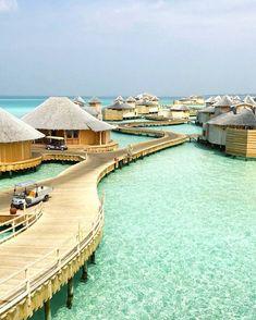 Soneva Jani # Malediven – Brenda Sorrells – Join the world of pin Maldives Beach, Maldives Honeymoon, Visit Maldives, Maldives Resort, Maldives Travel, Maldives Islands, Vacation Trips, Dream Vacations, Vacation Travel